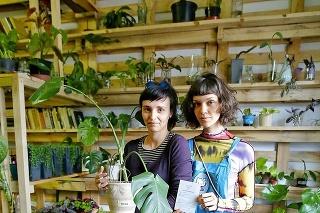 Zakladateľke útulku pre kvety Monike (27) pomáha aj Frida (19).