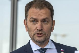 Predseda vlády SR Igor Matovič (OĽaNO)