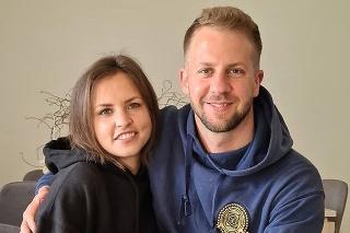 Matúš Krnčok s manželkou Ninou.