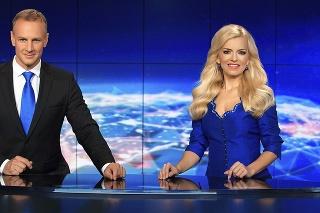 Televízne noviny: Markizácku spravodajskú reláciu moderuje aj so svojím manželom Patrikom Švajdom.