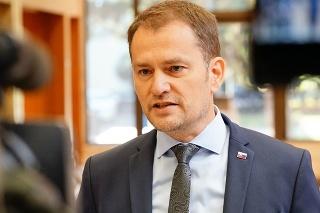 Premiér Igor Matovič