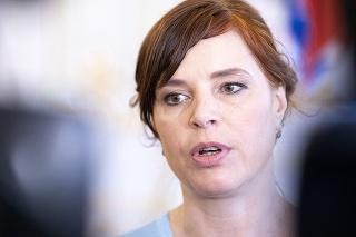Vicepremiérka a ministerka investícií, regionálneho rozvoja a informatizácie Veronika Remišová (Za ľudí).