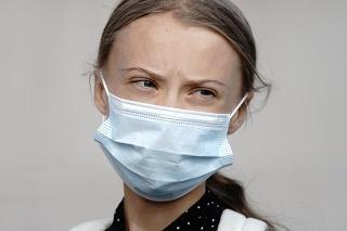 Švédska klimatická aktivistka Greta Thunbergová