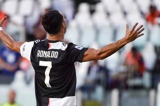 Ronaldo je blízko k druhému ligovému titulu s Juventusom.