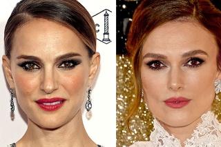 Keira Knightley (vpravo) dokonca hrala dvojníčku Natalie Portman v Star Wars.