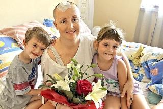 Antónia (44) túži vidieť rásť svoje milované deti Lenku (7) a Samka (7).