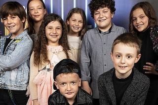 Miesto na pódiu obsadia celebritné deti.