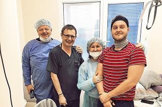 Pred 19 mesiacmi  podstúpil nákladnú  liečbu pod dohľadom doktora Fedorenka.