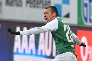Ivan Schranz po góle.