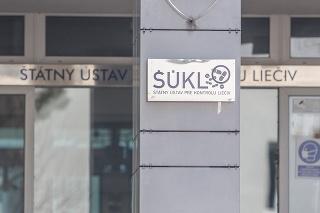 Budova sídla Štátneho ústavu pre kontrolu liečiv v Bratislave