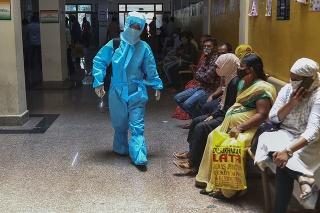 India patrí k momentálne pandémiou najzasiahnutejším štátom.