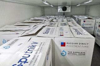 Sputnik skladujú v Imune v Šarišských Michaľanoch.