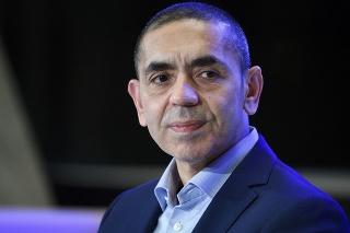 Riaditeľ a spoluzakladateľ nemeckej spoločnosti BioNTech Ugur Šahin