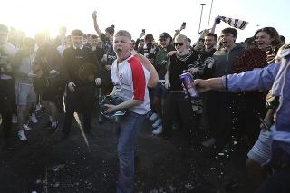 Po návrate divákov na tribúny hrozia protesty kvôli skrachovanému projektu Superliga. (ilustračná foto)