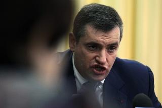 Vysokopostavený ruský zákonodarca Leonid Sluckij.