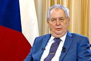 Miloš Zeman sa k udalostiam vo Vrběticiach vyjadril po týždni mlčania.