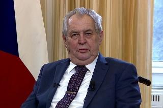 Český prezident Miloš Zeman vystúpil 25. apríla 2021 v televízii s prejavom ku kauze Vrbětice.
