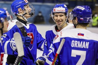 Slovenskí hokejisti zvíťazili nad Nemeckom 4:3 po sn.