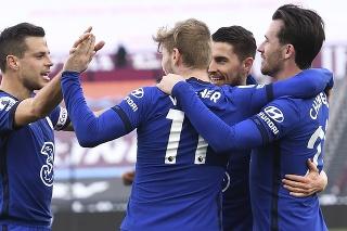 Chelsea vyhrala na pôde West Hamu 1:0 a upevnila si štvrté miesto.