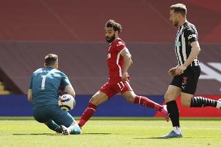 FC Liverpool remizoval s Newcastleom United 1:1.