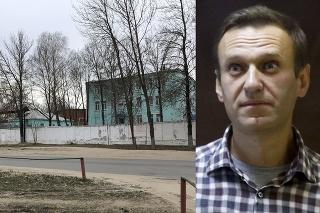Na snímke nemocnica v trestaneckej kolónii v meste Vladimir, ktoré leží asi 180 kilometrov východne od Moskvy