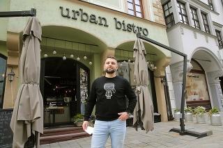 Ján Hruboš (30), generálny manažér, Urban bistro
