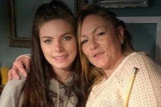 Mama Jeanette a dcéra Rhianne
