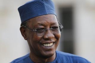 Na archívnej snímke z 13. januára 2020 čadský prezident Idriss Déby.