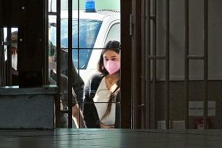 Juditu priviezli na súd v utorok ráno, o jej osude sa rozhodovalo niekoľko hodín.