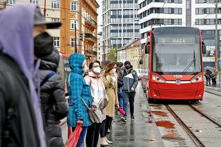 Covid negatívne ovplyvnil verejnú dopravu v hlavnom meste
