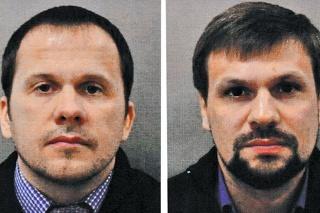 Alexandr Miškin (alias Alexandr Petrov) a  Anatolij Čepiga (alias Ruslan Boširov)