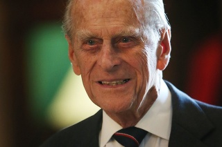 Princ Philip, vojvoda z Edinburghu.