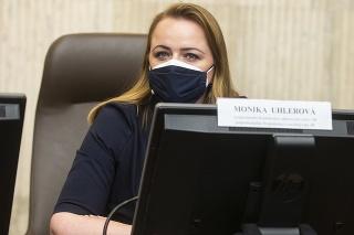 Viceprezidentka Konfederácie odborových zväzov (KOZ) Monika Uhlerová.