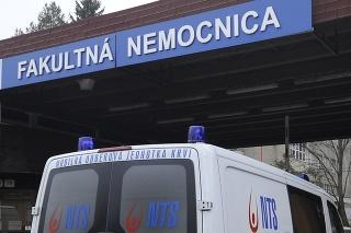 Nakazený personál hlási aj trenčianska Fakultná nemocnica.