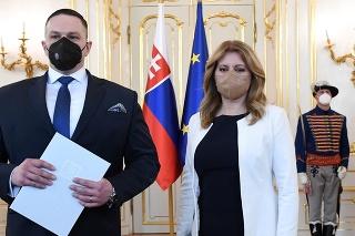 Prezidentka SR Zuzana Čaputová vymenovala na návrh vlády SR nového riaditeľa Slovenskej informačnej služby (SIS) Michala Aláča