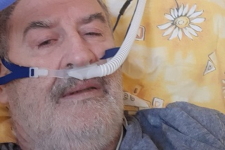 Tréner Vladimír Goffa na nemocničnom lôžku.