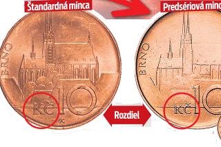 Vzácnu mincu