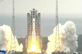 Modul Tchien-che (Nebeská harmónia) do vesmíru vyniesla raketa Dlhý pochod 5B z kozmodrómu Wen-čchang na ostrove Chaj-nan.