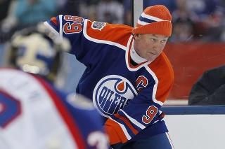 Gretzky ukázal