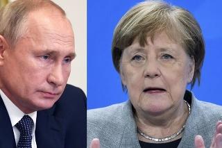 Merkelová a Putin telefonovali o situácii v Bielorusku.
