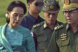 Mjanmarská vojenská