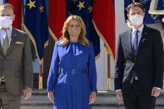 Ústavní činitelia mali prejav ohľadom diskusie o budúcnosti Európskej únie.