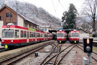 Švajčiarske električky