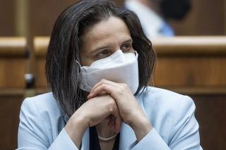 Ministerka spravodlivosti SR Mária Kolíková (Za ľudí)