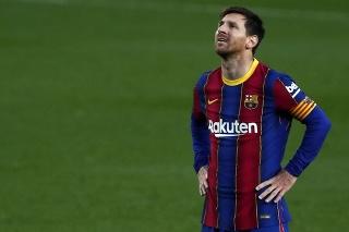 Futbalista FC Barcelona Lionel Messi.