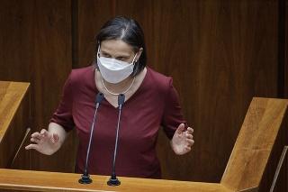 Ministerka spravodlivosti Mária Kolíková čelí odvolávaniu.