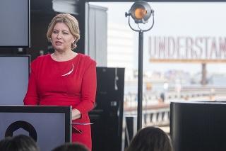 Prezidentka SR Zuzana Čaputová sa v rámci pracovnej cesty v Dánskom kráľovstve zúčastnila aj na Kodanskom summite o demokracii.