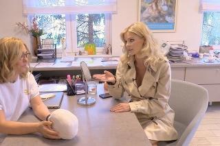 Silvia Kucherenko na estetickej klinike u doktorky Márie Petrášovej