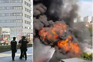 Obrovský požiar