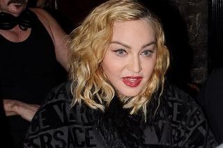 Speváčka Madonna na archívnej snímke z januára 2020